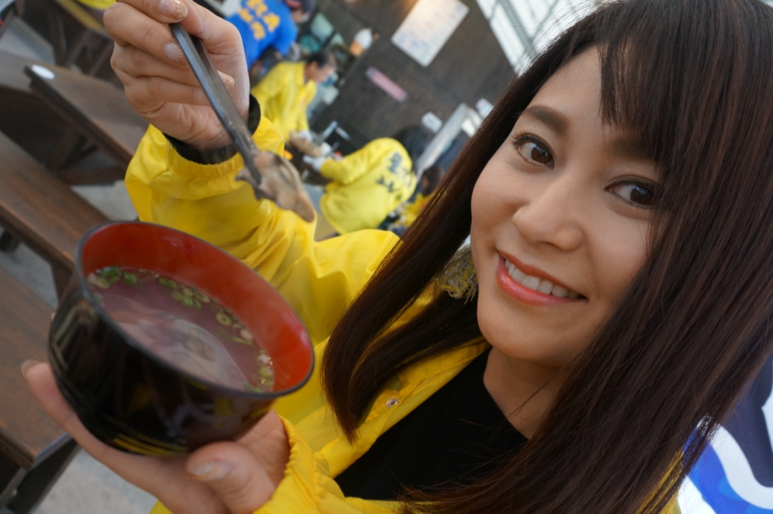 牡蠣のすまし汁